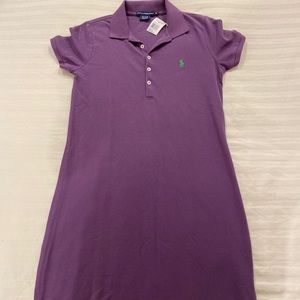 Polo Ralph Lauren Cotten Mesh Dress